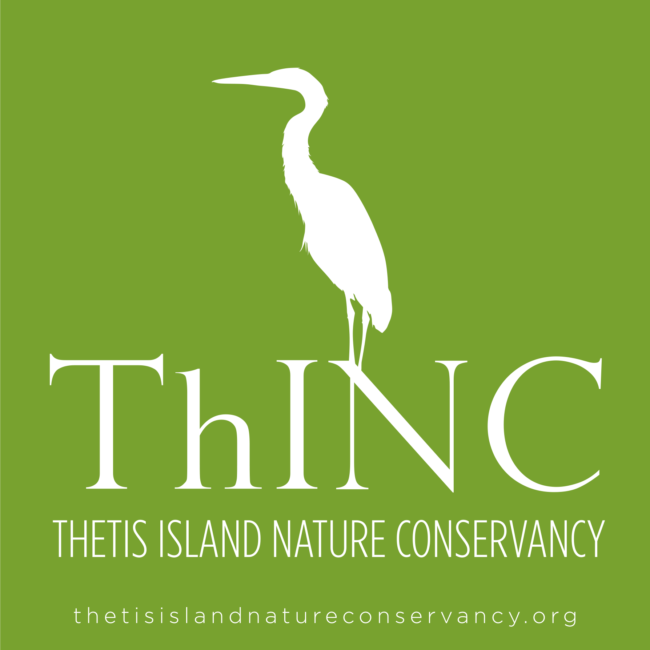 Thetis Island Nature Conservancy Branding, Logo, Graphic Design